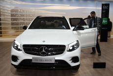 Mercedes Benz GLC 350e 4MATIC - Weltpremiere auf der IAA 2015 - zur Galerie