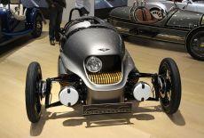 Morgan EV3 bei der Weltpremiere auf dem Auto Salon in Genf (2016)