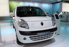 Renault Kangoo Maxi Z.E. Frontansicht