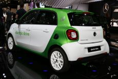 Smart forfour electric drive - zur Galerie