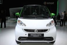 Smart fortwo ED electric drive Frontansicht - zur Galerie